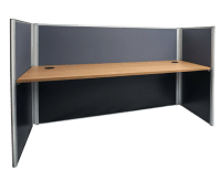 Rapidline Desks - Inline Office Partitions