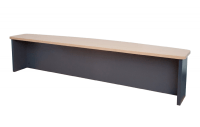 Reception Desk Cowl - Bow Front - Administrator Range - Clearance Stock