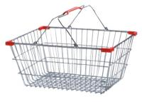 Shopping Basket Wire 22Ltr