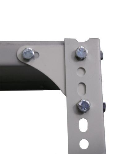 STORE-EZI® - Adjustable Steel Shelves - 1800 High - Slotted Angle