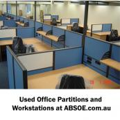 General Partitions & Workstations - Used